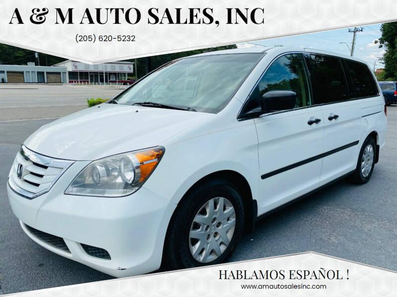 2010 Honda Odyssey for sale at A & M Auto Sales, Inc in Alabaster AL