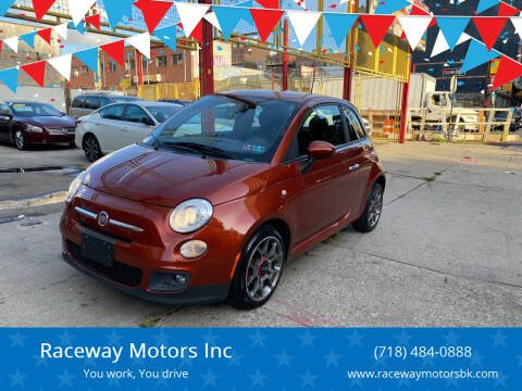 2012 FIAT 500 for sale at Raceway Motors Inc in Brooklyn NY