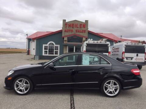 2013 Mercedes-Benz E-Class for sale at THEILEN AUTO SALES in Clear Lake IA