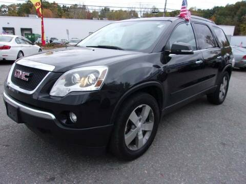 2012 GMC Acadia for sale at Top Line Import in Haverhill MA