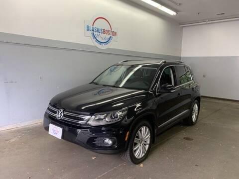 2016 Volkswagen Tiguan for sale at WCG Enterprises in Holliston MA
