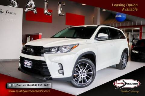 2018 Toyota Highlander for sale at Quality Auto Center in Springfield NJ
