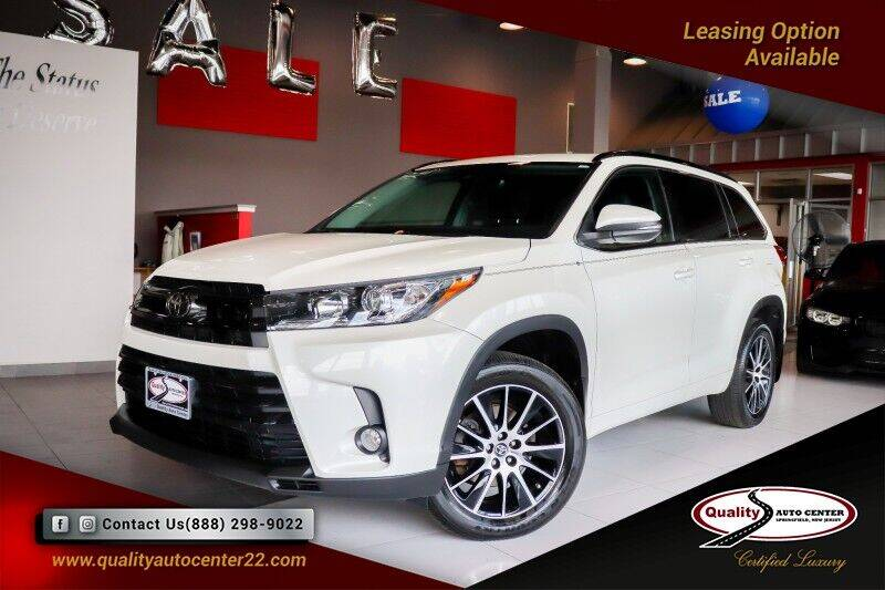 2018 Toyota Highlander for sale at Quality Auto Center of Springfield in Springfield NJ