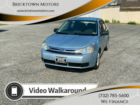 2009 Ford Focus for sale at Bricktown Motors in Brick NJ