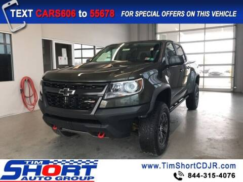 2017 Chevrolet Colorado for sale at Tim Short Chrysler in Morehead KY