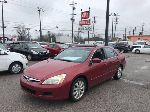 2007 Honda Accord for sale at 4th Street Auto in Louisville KY