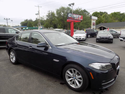 2014 BMW 5 Series for sale at Comet Auto Sales in Manchester NH
