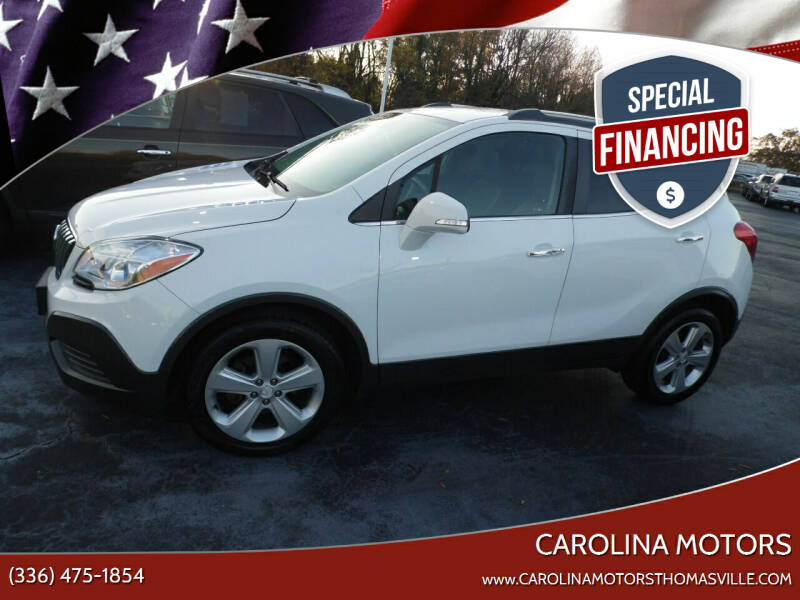 2016 Buick Encore for sale at CAROLINA MOTORS in Thomasville NC