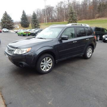 2012 Subaru Forester for sale at TIM'S ALIGNMENT & AUTO SVC in Fond Du Lac WI