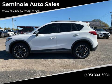2016 Mazda CX-5 for sale at Seminole Auto Sales in Seminole OK