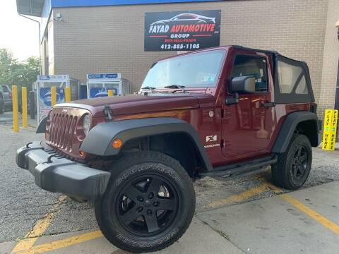 2007 Jeep Wrangler for sale at FAYAD AUTOMOTIVE GROUP in Pittsburgh PA