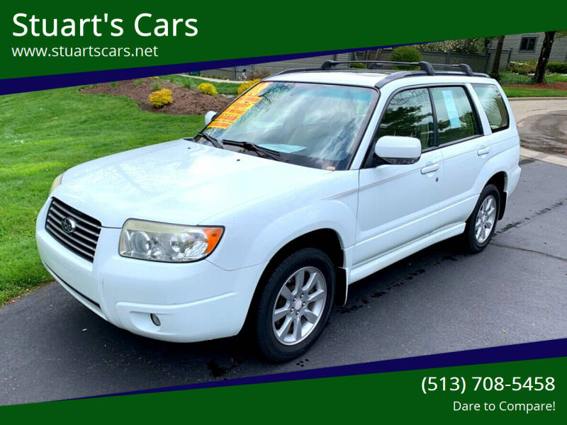 2008 Subaru Forester for sale at Stuart's Cars in Cincinnati OH
