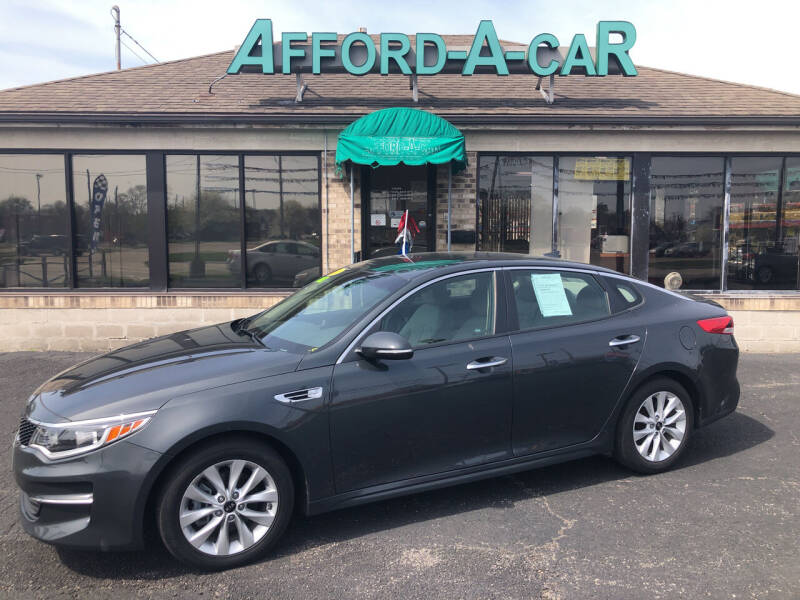 2016 Kia Optima for sale at Afford-A-Car in Moraine OH