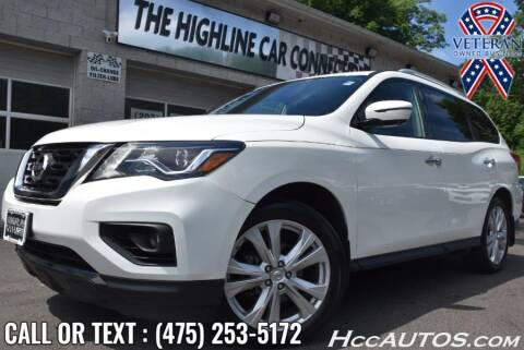 2018 Nissan Pathfinder for sale at The Highline Car Connection in Waterbury CT