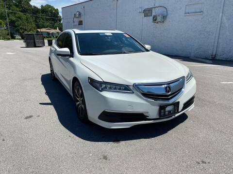 2016 Acura TLX for sale at Consumer Auto Credit in Tampa FL