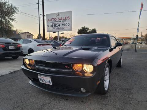 2014 Dodge Challenger for sale at A1 Auto Sales in Sacramento CA