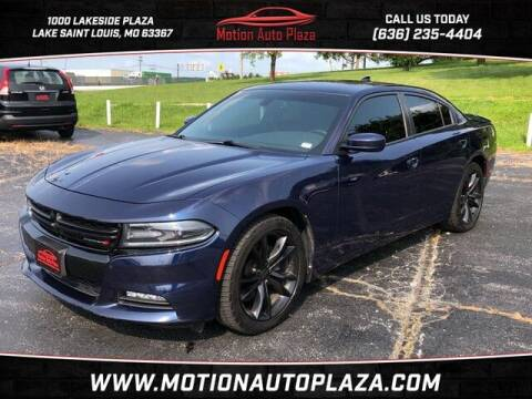 2015 Dodge Charger for sale at Motion Auto Plaza in Lakeside MO