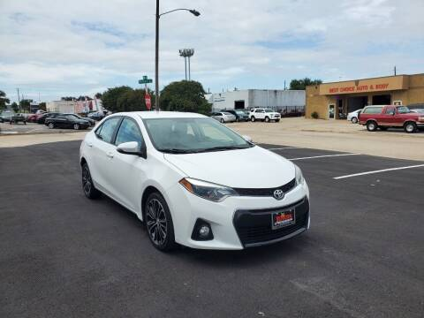 2016 Toyota Corolla for sale at Image Auto Sales in Dallas TX