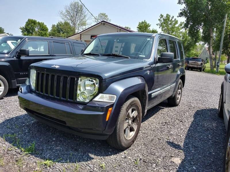 2008 Jeep Liberty for sale at John's Auto Sales & Service Inc in Waterloo NY