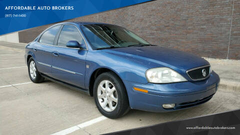 2002 Mercury Sable for sale at AFFORDABLE AUTO BROKERS in Keller TX