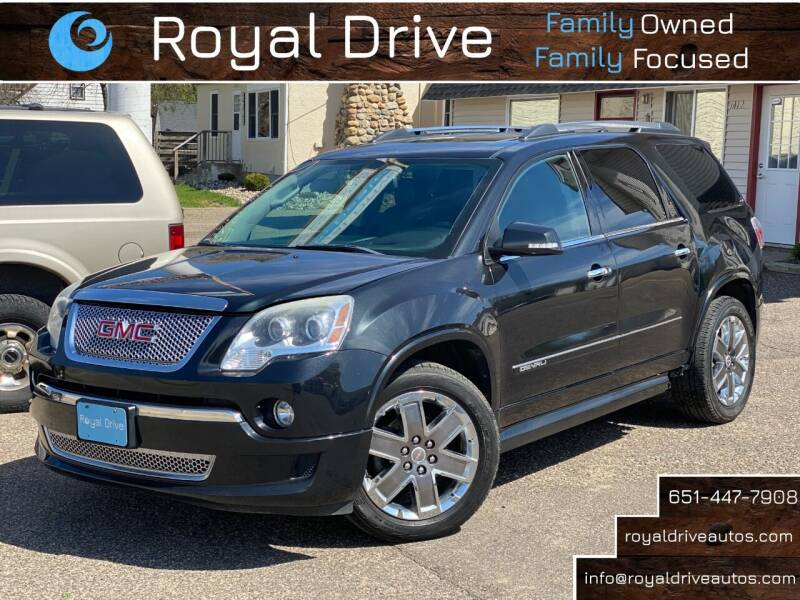 2012 GMC Acadia for sale at Royal Drive in Newport MN