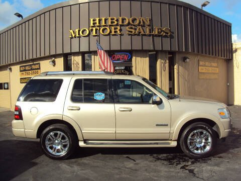 2007 Ford Explorer for sale at Hibdon Motor Sales in Clinton Township MI