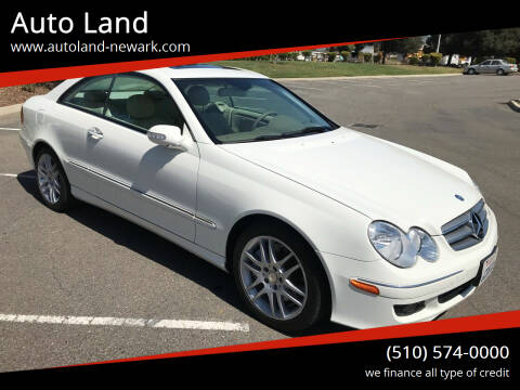 2008 Mercedes-Benz CLK for sale at Auto Land in Newark CA