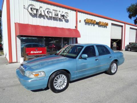2008 Mercury Grand Marquis for sale at Gagel's Auto Sales in Gibsonton FL