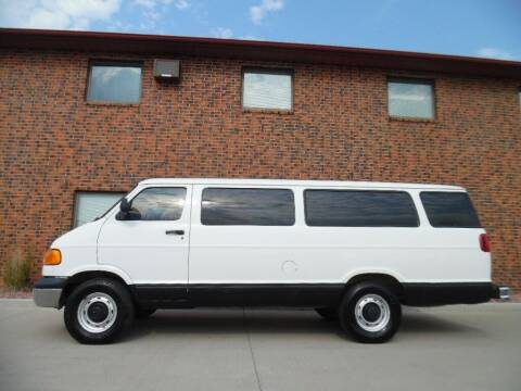 2000 Dodge Ram Wagon for sale at KJR Motors LLC in West Fargo ND