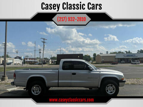 2002 Dodge Dakota for sale at Casey Classic Cars in Casey IL