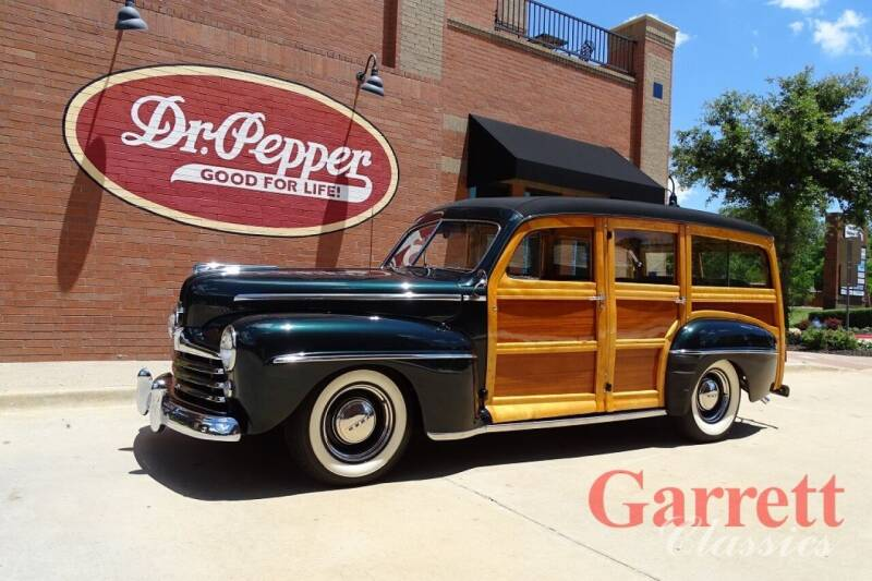 1947 Ford Super Deluxe for sale at Garrett Classics in Lewisville TX