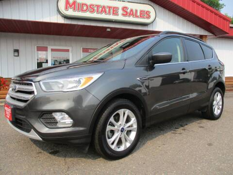 2018 Ford Escape for sale at Midstate Sales in Foley MN