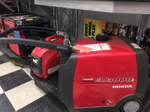 2021 Honda POWER EU3000 HANDI GENERATOR for sale at Irv Thomas Honda Suzuki Polaris in Corpus Christi TX