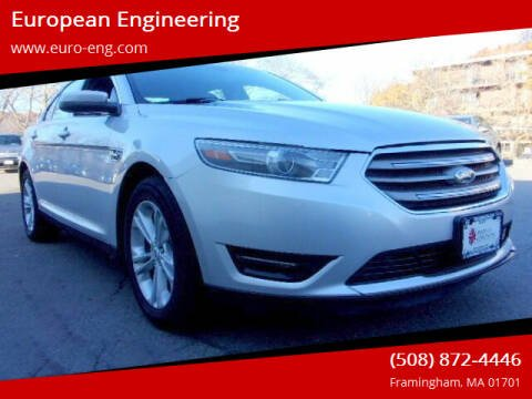 2016 Ford Taurus for sale at European Engineering in Framingham MA