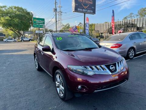 2010 Nissan Murano for sale at The Strong St. Moses Auto Sales LLC in Tallahassee FL
