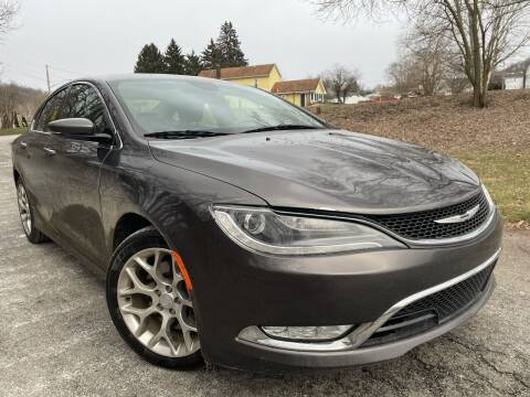 2015 Chrysler 200 for sale at Trocci's Auto Sales in West Pittsburg PA