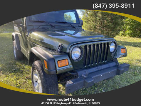 2006 Jeep Wrangler for sale at Route 41 Budget Auto in Wadsworth IL