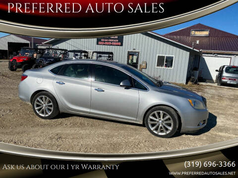 2012 Buick Verano for sale at PREFERRED AUTO SALES in Lockridge IA