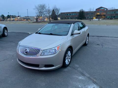 2012 Buick LaCrosse for sale at Lux Car Sales in South Easton MA