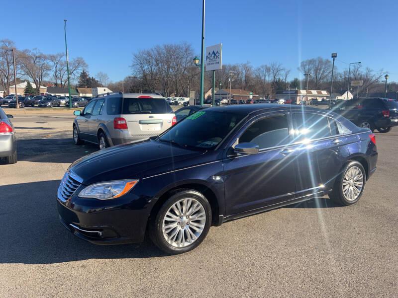 2012 Chrysler 200 for sale at Peak Motors in Loves Park IL