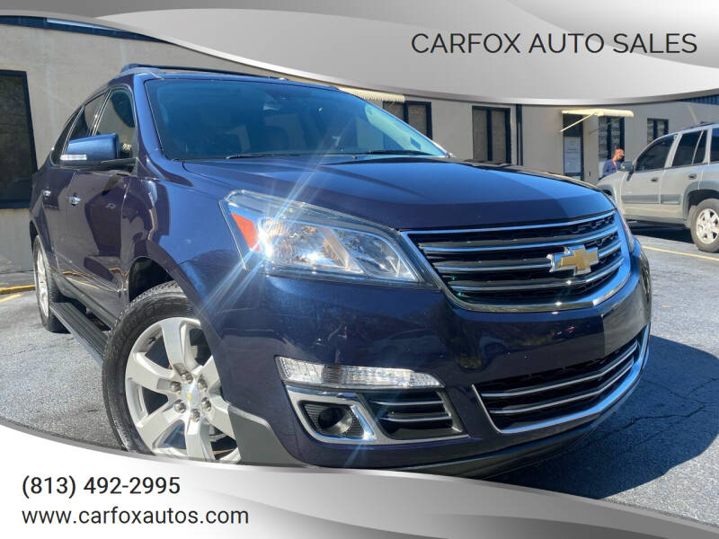 2016 Chevrolet Traverse for sale at Carfox Auto Sales in Tampa FL