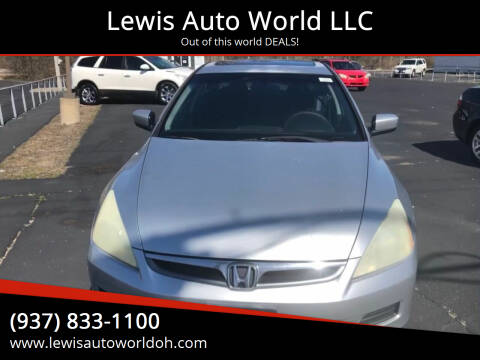 2007 Honda Accord for sale at Lewis Auto World LLC in Brookville OH