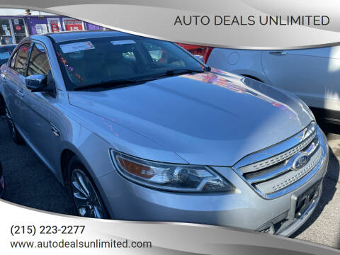 2011 Ford Taurus for sale at AUTO DEALS UNLIMITED in Philadelphia PA