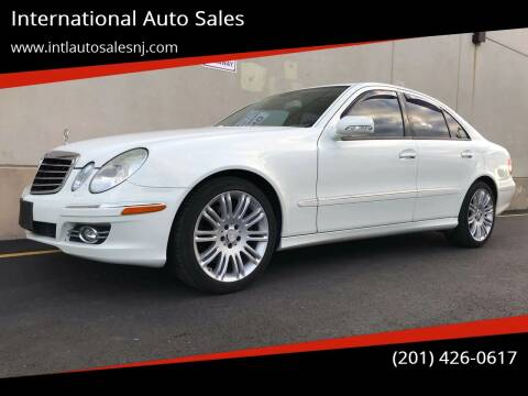 2008 Mercedes-Benz E-Class for sale at International Auto Sales in Hasbrouck Heights NJ