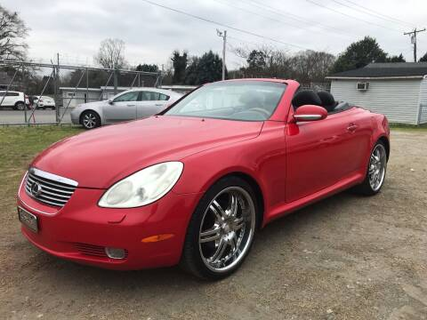 2002 Lexus SC 430 for sale at Cutiva Cars in Gastonia NC