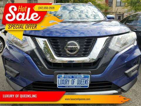 2020 Nissan Rogue for sale at LUXURY OF QUEENS,INC in Long Island City NY