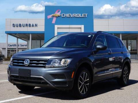 2020 Volkswagen Tiguan for sale at Suburban Chevrolet of Ann Arbor in Ann Arbor MI