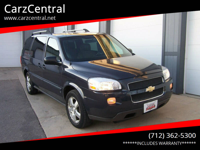 2008 Chevrolet Uplander for sale at CarzCentral in Estherville IA