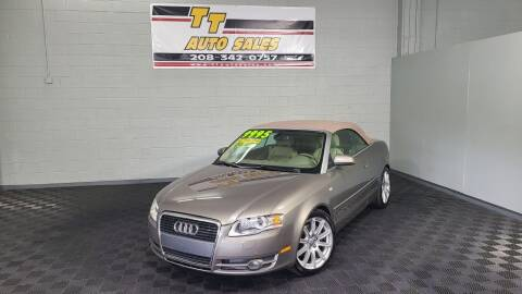 2007 Audi A4 for sale at TT Auto Sales LLC. in Boise ID