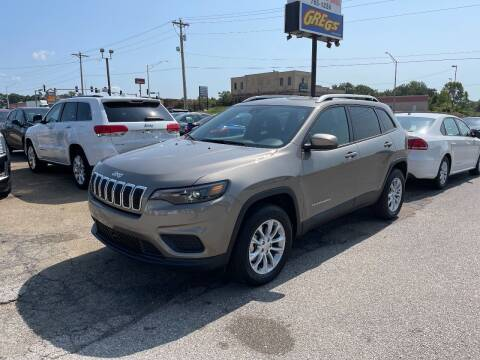 2021 Jeep Cherokee for sale at Greg's Auto Sales in Poplar Bluff MO